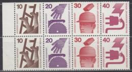 BERLIN  Heftchenblatt 16, Postfrisch **, Unfallverhütung 1972 - Blocchi