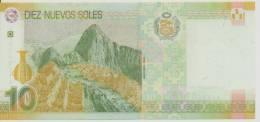 PERU P. 182 10 S 2009 UNC - Perù