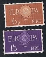 19. Sept. 1960 Europa  Michel 146 - 147 Postfrisch Xx - 1949-... Republik Irland