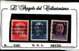 73136) ITALIA-  Governo Alleato, Emissione Di Napoli Data Di Emissione: 10 Dicembre 1943-MNH** - 1944-45 République Sociale