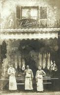 Boucherie BINOIS   -- Carte Photo D'une Boucherie  - Probablemen                                               -- - Photos
