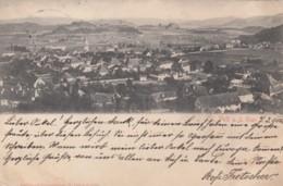 St. Veit An Der Glan (Carinthia) Austria, Panoramic View Of Town 1900s Vintage Postally Used Postcard - St. Veit An Der Glan