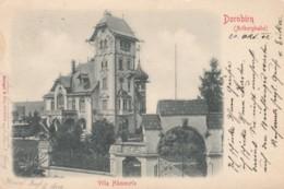 Dornbirn Austria, Arlbergbahn, Villa Haemmerle, C1900s Vintage Postally Used Postcard - Dornbirn