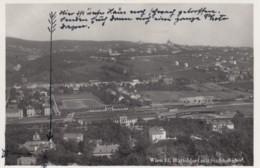Wien Vienna Austria, Huetteldorf Mit Stadtbahnhof, C1930s Vintage Real Photo Postcard - Other