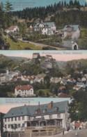 Pottenstein (Bayreuth) Bavaria Germany, Multi-view Gasthof Distler, Schuettersmuehle, C1900s Vintage Postcard - Pottenstein