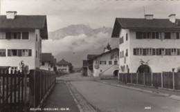 Reutte (Tirol) Austria, Siedlung Street Scene, C1950s Vintage Real Photo Postcard - Reutte