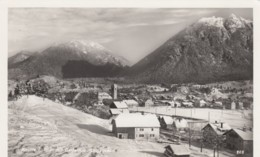 Reutte (Tirol) Austria, View Of Town In Snow, C1930s/50s Vintage Real Photo Postcard - Reutte