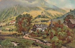 Passeier Valley Austria-Hungary Empire Era, South Tirol, 'Das Sandwirthaus', C1910s Vintage Postcard - Austria