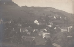 Unknown Town On Hillside, Possibly Austria(?), C1900s/10s Vintage Real Photo Postcard - Postcards