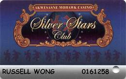 Akwesasne Mohawk Casino - Hogansburg NY - Slot Card - Casino Cards