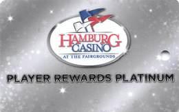 Hamburg Gaming / Casino - Buffalo Raceway - Hamburg, NY - BLANK Platinum Slot Card - Casino Cards