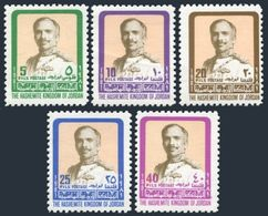 Jordan 1052b-1058b,MNH.Michel 1111-1112. King Hussein,1981. - Jordan