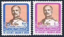 Jordan 1056a,1058a,MNH.Michel 1111-1112. King Hussein,1979. - Jordan