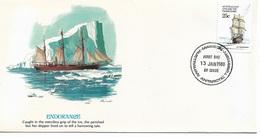 Australia Antarctic Territory Cachet FDC 1980 Sailing Ships ,Endurance ,VF ! - FDC