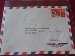 Lettre De Polynesie De 1970 Avec No 67 - Polynésie Française