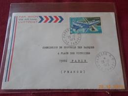 Lettre De Polynesie De 1973 Avec No 74 PA - Polynésie Française