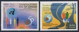 Jordan 1612-1613,MNH.Mi 1668-1669. Universal Declaration Of Human Rights,1998. - Jordan