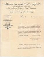 """FRANCE - En-tête De Lettre """"Allumettes Caussemille Et Roche Cie"""" Paris 7 Rue Caumartin - 1905 - France"""