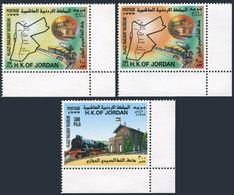 Jordan 1624-1626,MNH. Hijazi Railway Museum,1999. - Jordan