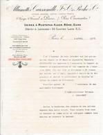 """FRANCE - En-tête De Lettre """"Allumettes Caussemille Et Roche Cie"""" Paris 7 Rue Caumartin - 1903 - France"""