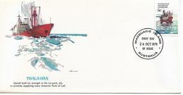 Australia Antarctic Territory Cachet FDC 1979 Ships,Thala Dan ,VF ! - FDC