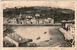 3TI 1O32 CPA - SAINT JEAN DE LUZ - LE PORT SUR LA NIVELLE ET CIBOURE - Saint Jean De Luz