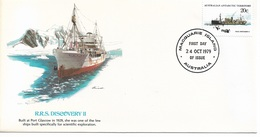 Australia Antarctic Territory Cachet FDC 1979 Ships, R.R.S. Discovery II ,VF ! - Ships