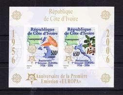 Elfenbeinküste Block 172B Mit 1467-1468 ** Postfrisch MNH #RG121 - Ivory Coast (1960-...)