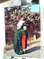 NICASTRO COSTUME  CALABRESE  COSTUMI  RAGAZZA    VB1966 GW5222 - Lamezia Terme