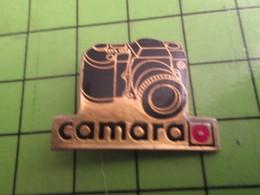 1418a Pin's Pins / Belle Qualité Et TB état !!!! : THEME PHOTOGRAPHIE / APPAREIL REFLEX MAGASIN CAMARA - Photography