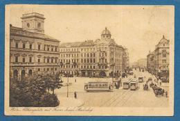WIEN ALTHANPLATZ MIT FRANZ JOSEPH BAHNHOF 1921 - Vienna Center