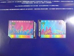AUSTRALIA - International Phonecards World - 1995 - AUS-M-354 & 356 - Set Of 2 - Special Edition Folder - Mint - Australia