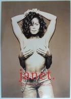 AUSTRALIA - Janet Jackson - PacificNet - Set Of 3 - Special Edition Folder - 500ex - Mint - Australia