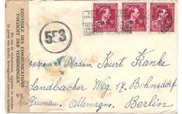 9286 - Pour L'ALLEMAGNE - 1946 -10%