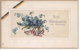 Geburtstagskarte Freiberg - Feldpost 2 Ersatz Abtlg. I K.S. Jäger Batl Nr 112   -AK- 12.807 - Other