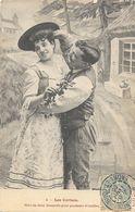 Couple, Fantaisie, Série: Les Cerises N° 4: Mets-en Deux Bouquets Pour Pendants D'oreilles - Couples