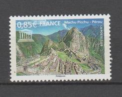 FRANCE / 2008 / Y&T SERVICE N° 141 ** : UNESCO (Cité Inca De Machu Picchu) - Gomme D'origine Intacte - Service