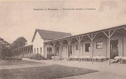 Rare Cpa Le Sanatorium De Kerpape  Pavillons Des Bambins Et Bambines - Other Municipalities