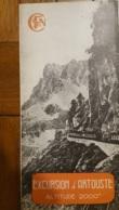 DEPLIANT TOURISTIQUE SNCF EXCURSION D'ARTOUSTE 1949 VOIR TOUS LES SCANS - Reiseprospekte