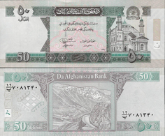 Afghanistan 2012 - 50 Afghanis - Pick 69e UNC - Afghanistan