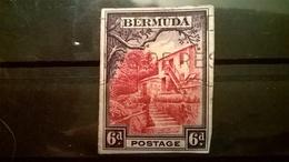 FRANCOBOLLI STAMPS BERMUDA 1936 SERIE PAESAGGI SU FRAMMENTO FRANGMENT - Bermuda