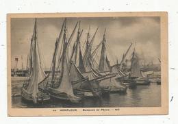 Cp, Bateaux De Pêche , 14 ,HONFLEUR , Barques De Pêche , Voyagée 1939 - Pêche