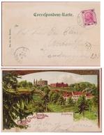 10 Heller Austria - Linz Am Rheim Freinberg Gruss Aus Turmlinie Probeturm Turmbefestigung Maximilianische Turmlinie - 1850-1918 Empire