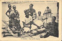 Soeurs N.D. Des Apôtres, Missions Africaines - Vénissieux (Rhône) - Nigéria: Une Famille Indigène - Carte Non Circulée - Missions