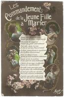 Les Commandements De La Jeune Fille à Marier - Mariage, Femme - Femmes