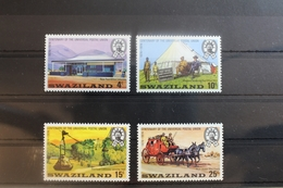 Swasiland 214-217 ** Postfrisch UPU Weltpostverein #RM458 - Swaziland (1968-...)