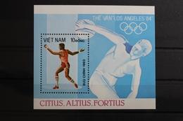 Vietnam Block 20 Mit 1351 ** Postfrisch Olympische Spiele #RM661 - Vietnam