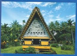 Palau; A Bay, Meeting House - Palau