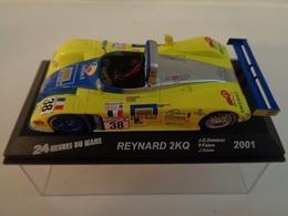 REYNARD 2KQ .  24 H Du Mans 2001 . # 38  J-D.Deletraz,P.Fabre,J.Gene   1/43 -Altaya - Voitures, Camions, Bus