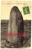 CPA - Le Menhir De Pierre Longue En 1913 - LE CROISIC 44 Loire Inf. - N°40 - Edit. F. Chapeau Nantes - Dolmen & Menhirs